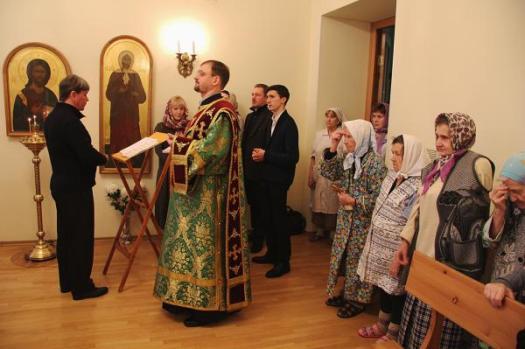 Престольный праздник отметили в больнице святой Ксении Петербургской