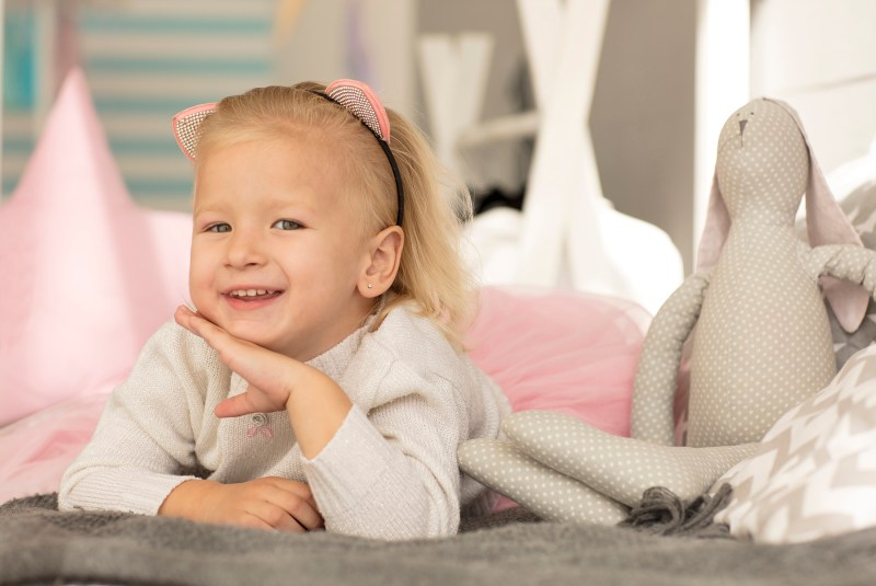 Little Girl blond Portrait