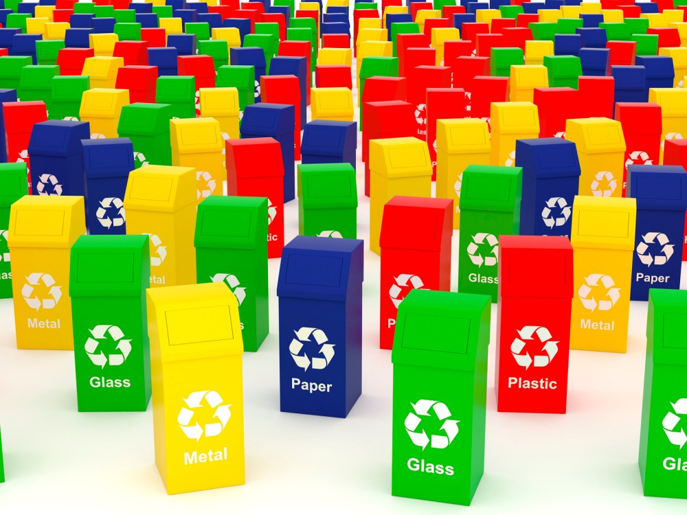 medium resolution of the many colours of waste and recycling