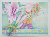 Star Gazer Lily Lady Boots $335