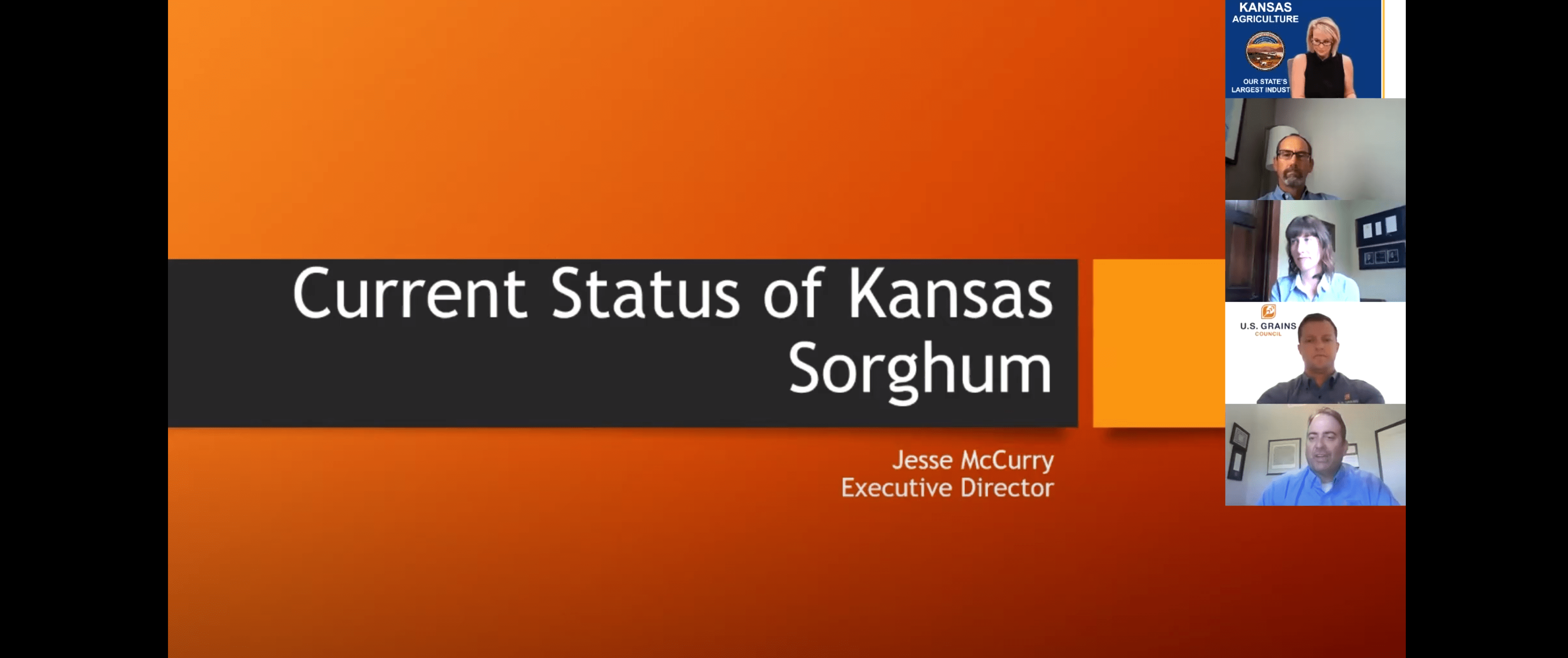 Re-Watch 2020 Kansas Ag Growth Summit's Sorghum Sector Breakout Session