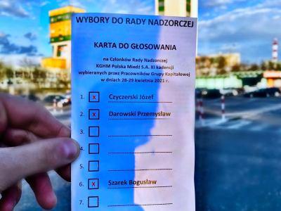 """Głosuj na trzech kandydatów NSZZ """"Solidarność"""""""