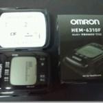 「omron オムロン 手首式血圧計 HEM-6310F」到着