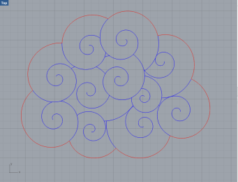 I used split to remove excess lines and defined which lines were to be cut versus etched