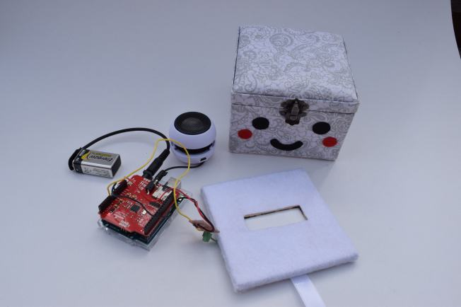 Complete components of the Sad Box