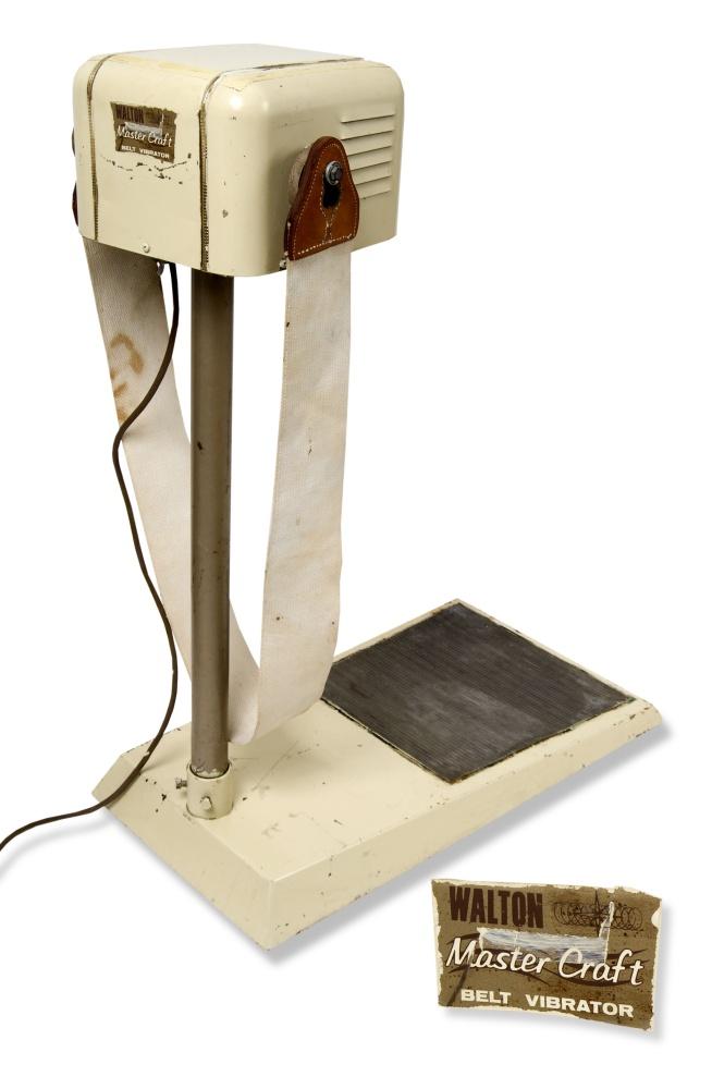 Vibrating Belt Machine For Sale : vibrating, machine, Vibrator, Kansapedia, Kansas, Historical, Society