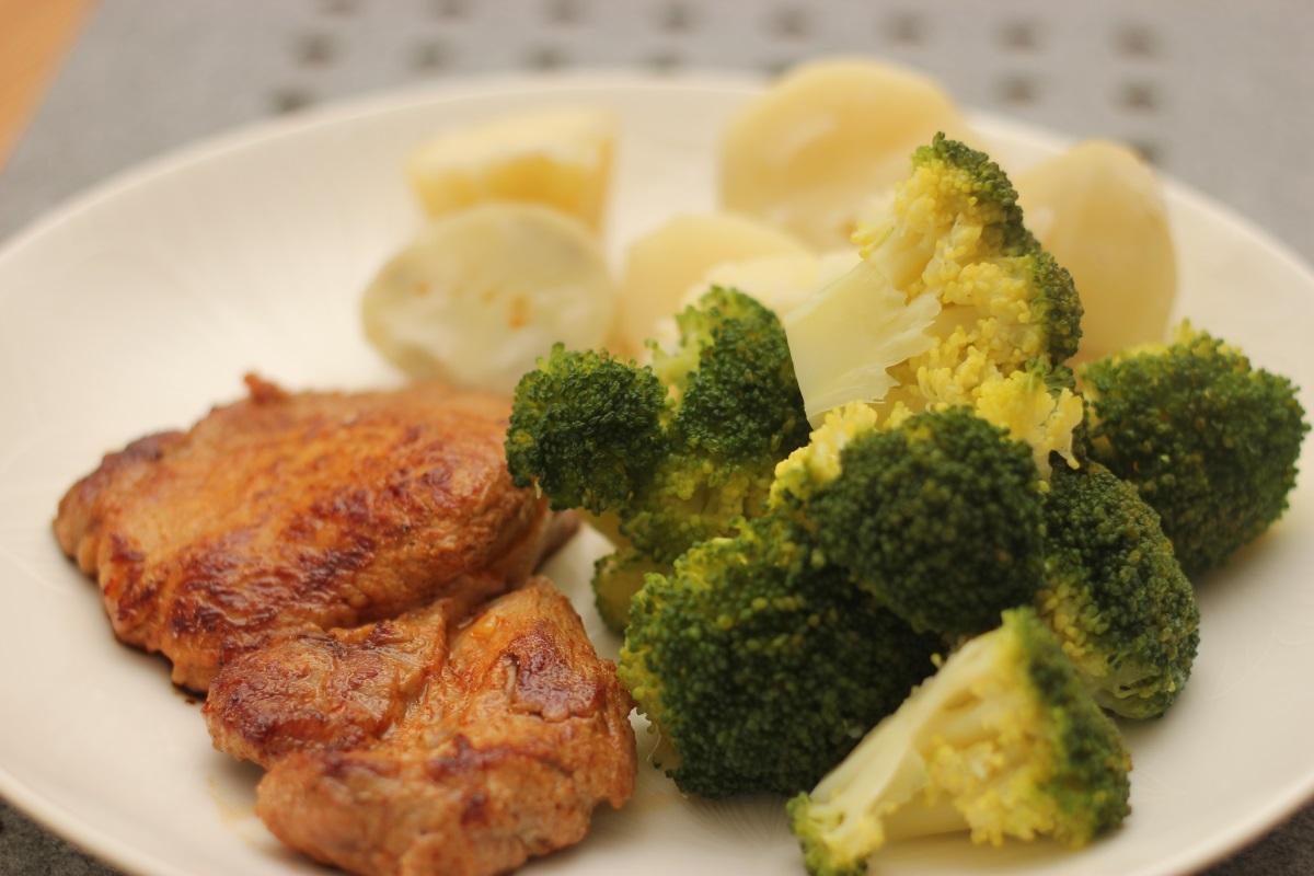 Karkówka po cygańsku - gotowe danie