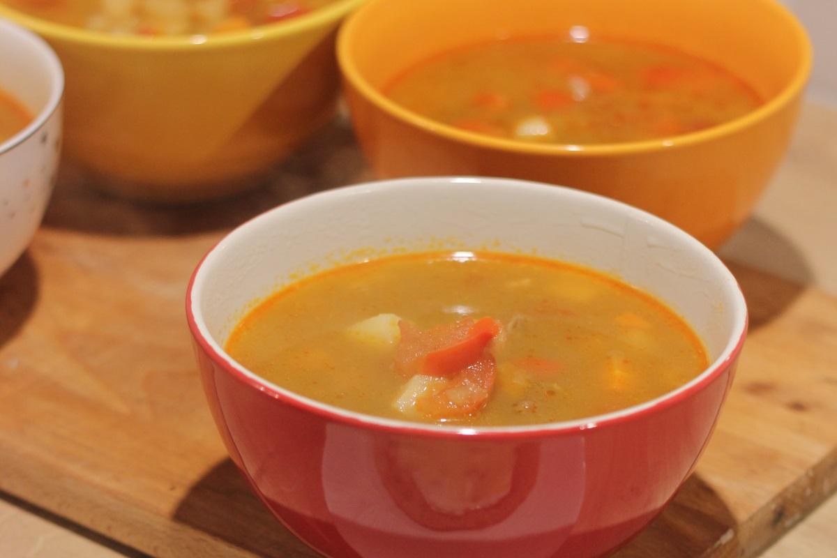 Węgierska zupa gulaszowa - gotowe danie