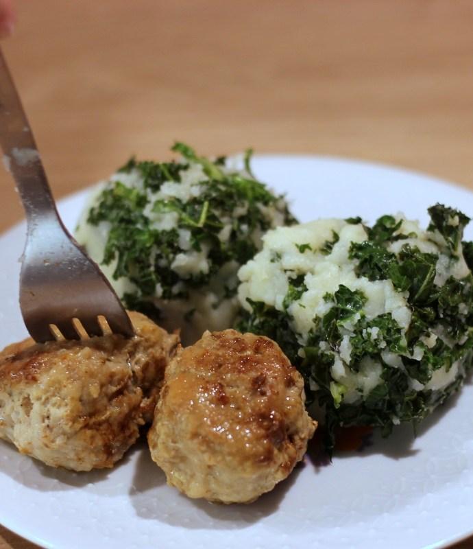 Stamppot – ziemniaki z jarmużem