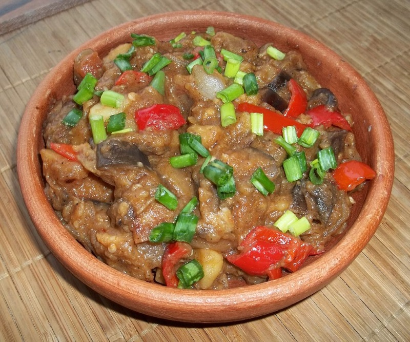 Kuchnia gruzińska - Ajapsandali