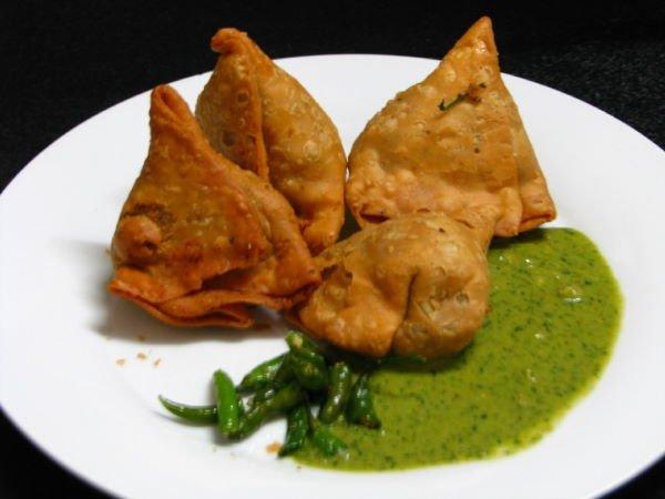 kuchnia nepalska - Samosy
