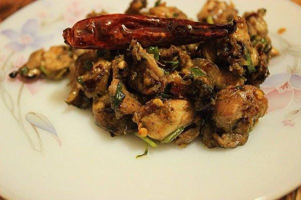 kuchnia nepalska - Choila