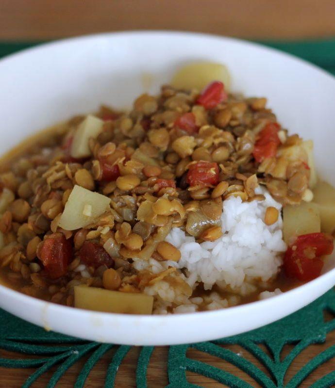 Dal Bhat – zupa z soczewicy