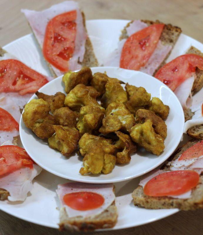 Pakora – kalafior w cieście z ciecierzycy