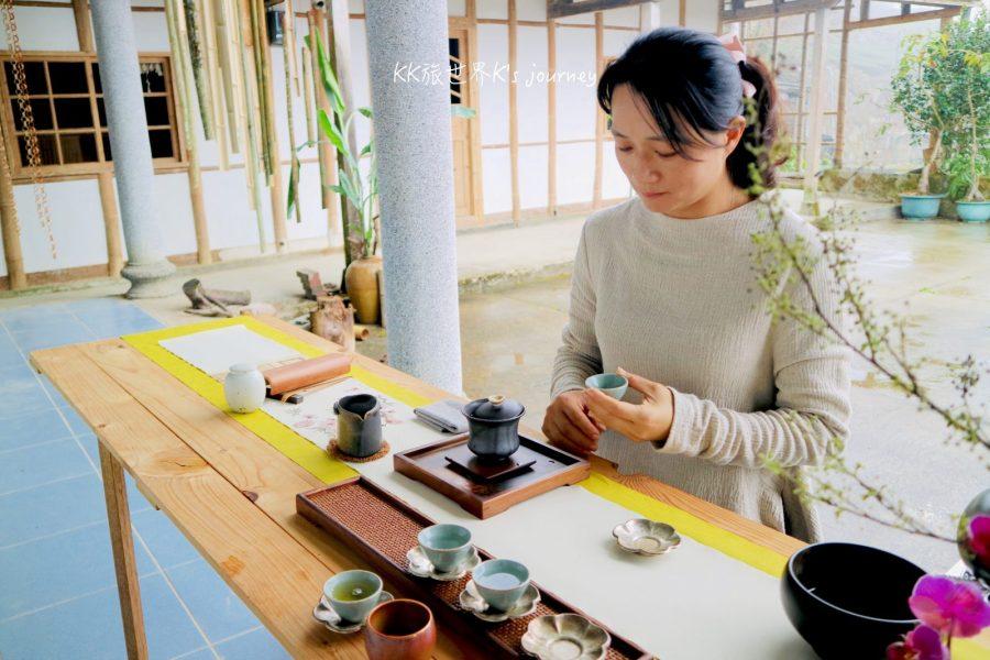 嘉義旅行 |再忙,也要上阿里山喝杯好茶!林園製茶古厝茶席體驗、旅澳情侶的悟佐茶
