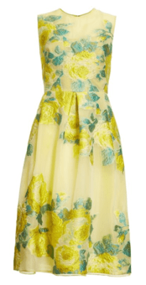Lela Rose Citrine Dress