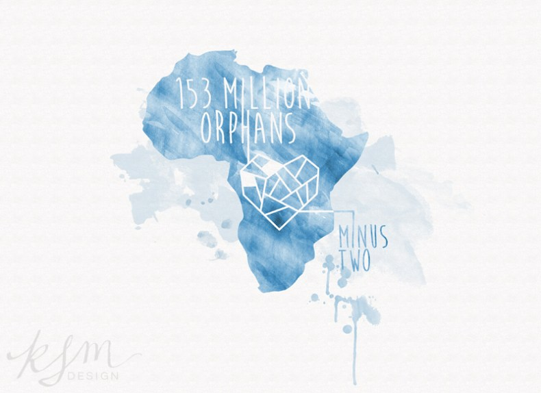 153 Million Orphans - Minus TWO! {T-shirt Design}
