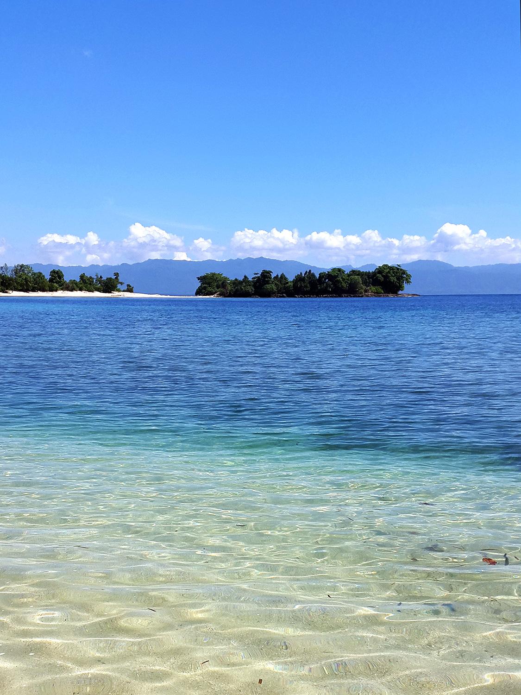 Pantai Luari Pantai Pasir Putih Primadona Maluku Utara