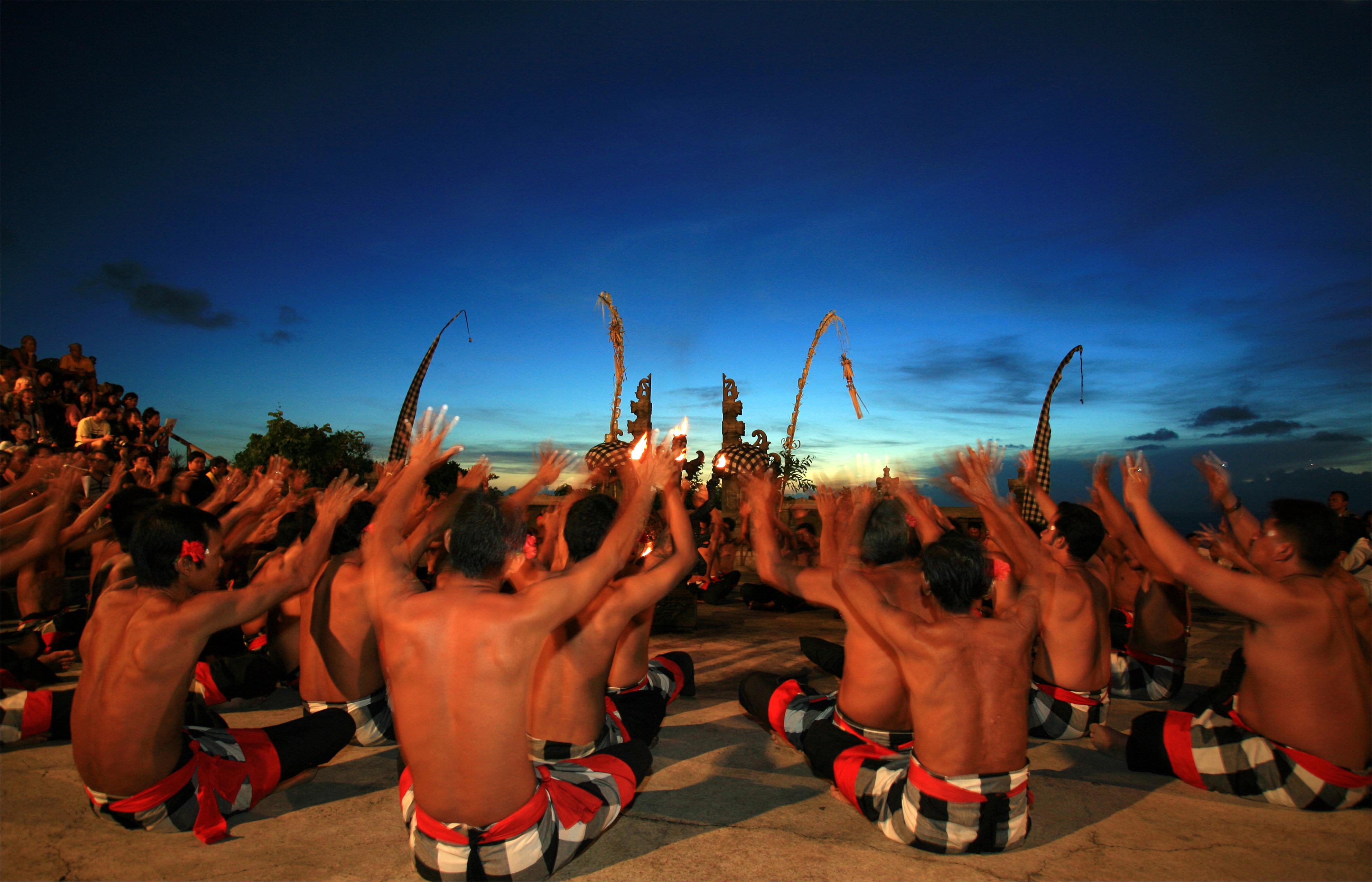 Paket Tour Bali  Barong Dance Kintamani Safari Park