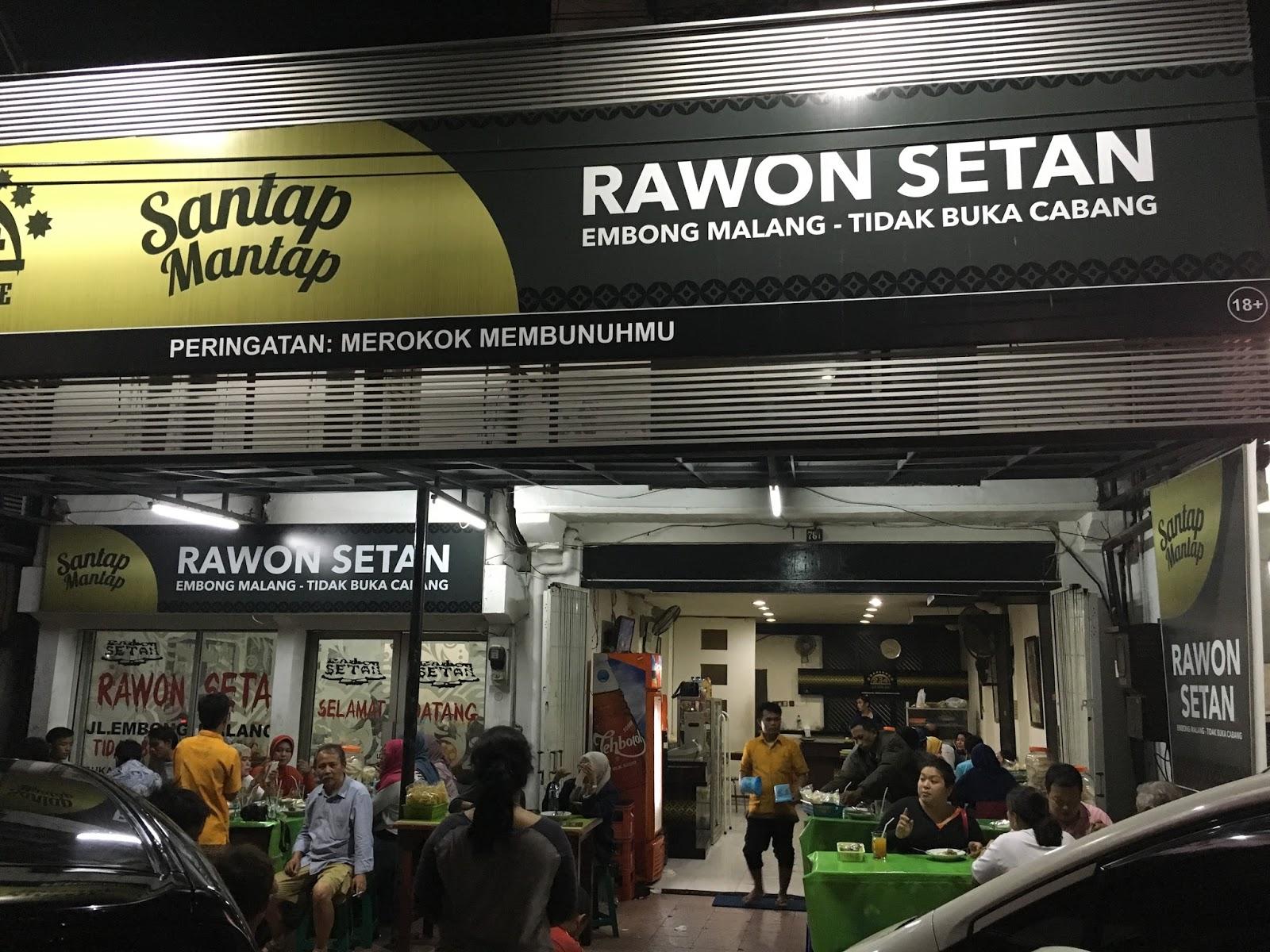 Rawon Setan Kuahnya Nendang dan Khas Surabaya  Kuliner