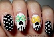 Sugarskulls nail art
