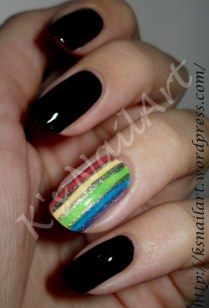 Day 9 - Rainbow Nails