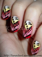 nagg day 24 abstract 's nailart