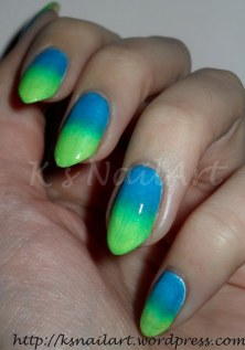 Blue-Green Gradient