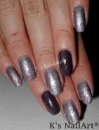 Wavy Abstract Nails