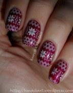 Xmas Jumper Nails