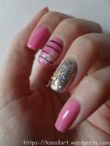 Pink Floral Skittlette