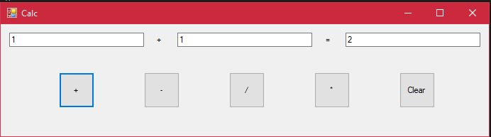 Add button operation after code modification