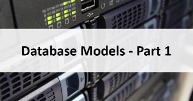 Database Models Banner