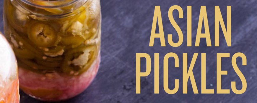 Asian Pickles Cover
