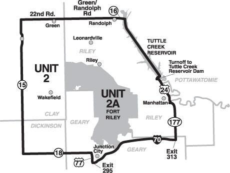 Elk Management Unit 2 Map / Maps / Hunting Regulations
