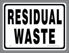 Residual Waste Sticker