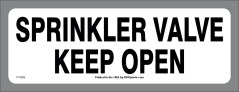 Sprinkler Valve Locator Sticker
