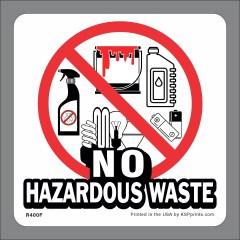 No Hazardous Waste