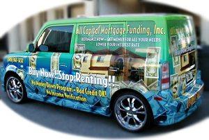 Full vehicle ad wraps