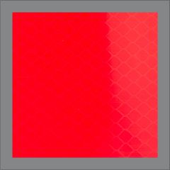 ANSI Reflective Square - Red