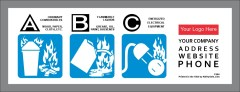 Class ABC Extinguisher Label