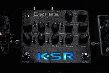 KSR Ceres lit in blue