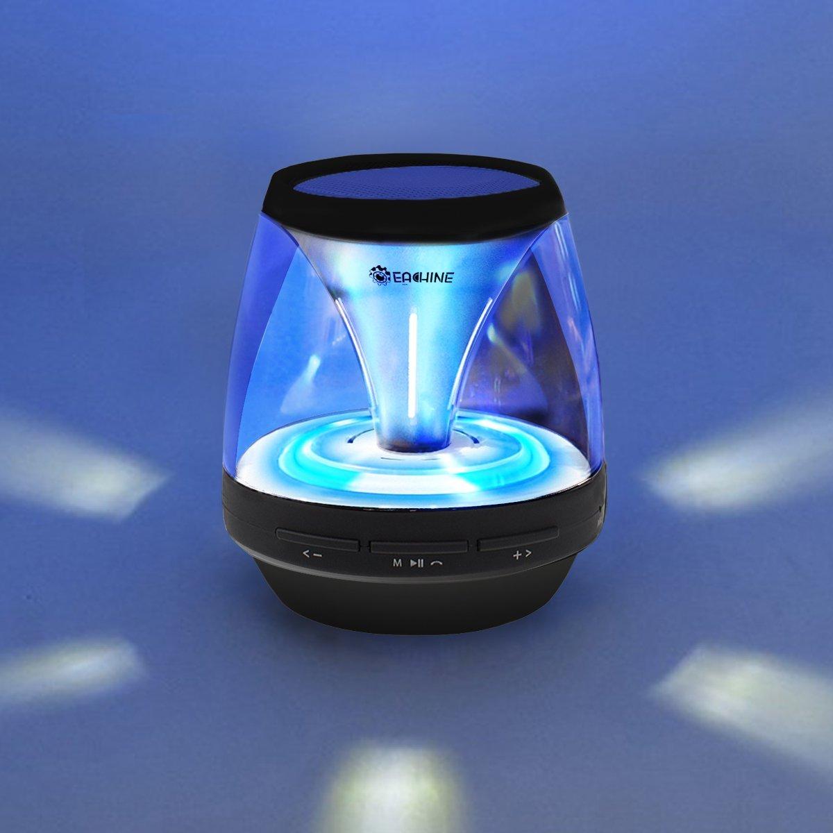 New Vivid Jar Portable Wireless Bluetooth Speaker LED