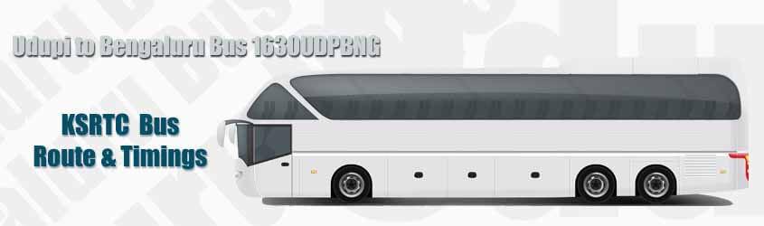 Udupi to Bengaluru Bus 1630UDPBNG