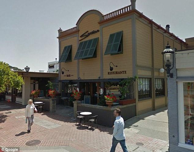Ресторан в Тибуроне, где произошло нападение
