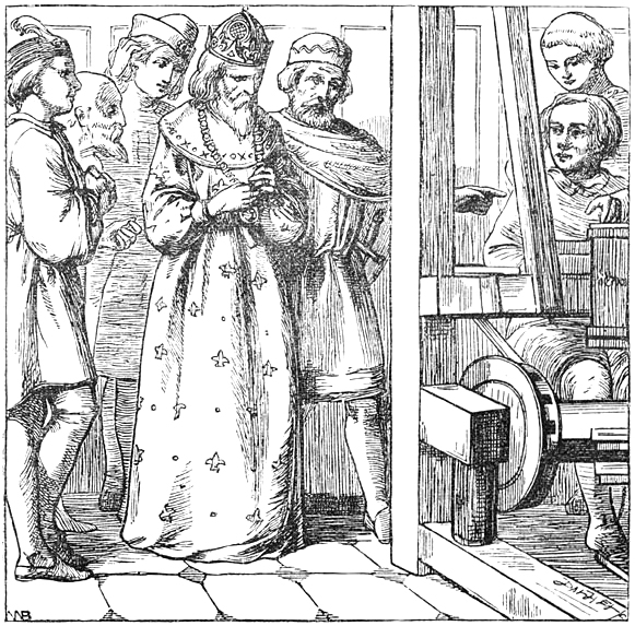 Иллюстрация к сказке «Новый наряд короля»