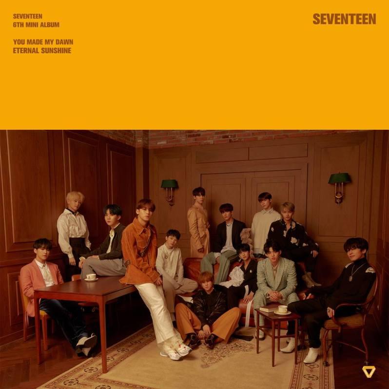 seventeen groupe