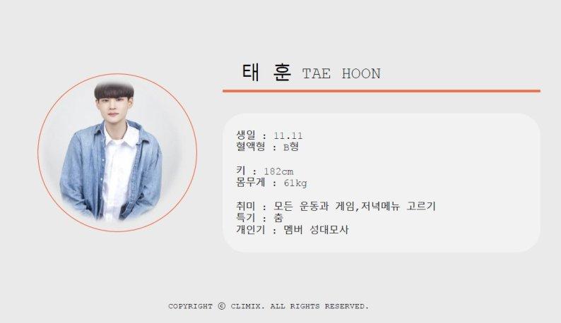 climix Tae hoon