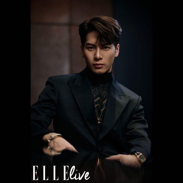 Jackson Wang pour ELLE