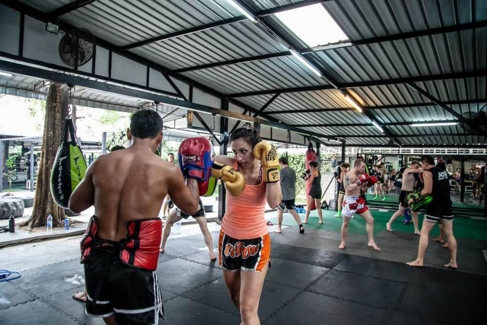Muay Thai Group Training in Bangkok